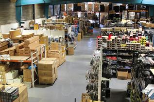 Un Entrepôt dédié à la logistique