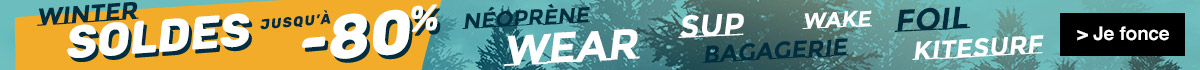 Soldes winter 2020 chez flysurf jusqu'à -80%