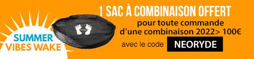 1 sac à combinaison offert pour l'achat d'une combinaison 2022