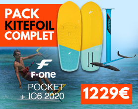 pack de kitefoil f-one pocket ic6