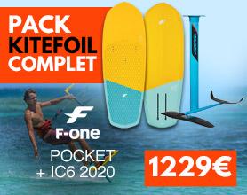 pack de kitefoil f-one pocket ic6