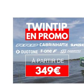 twintip kitesur en promo