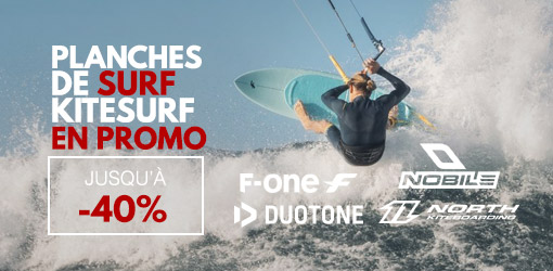 planches de surfkite en promo