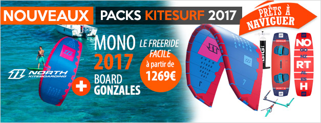 Pack kite NORTH MONO