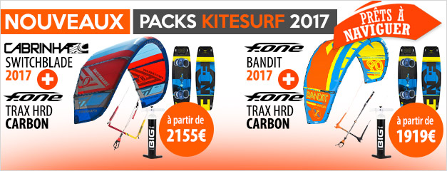Packs de kitesurf