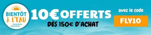 10€ offerts dès 150€ d'achat