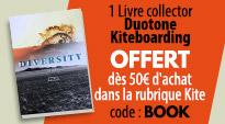 livre duotone offert dès 50€ dans la rubrique kite