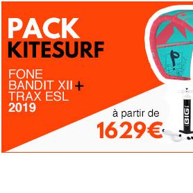 pack de kitesurf f-one bandit 2019