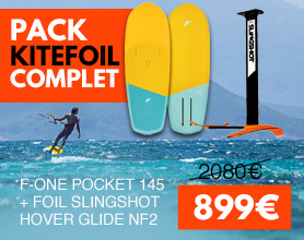 pack de kitefoil f-one pocket