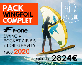 pack foil f-one swing et gravity