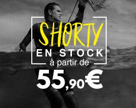 shorty à partir de 55,90€
