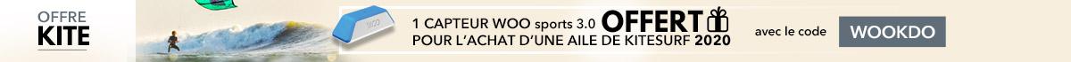1 capteur woo offert pour l'achat d'une aile de kite 2020