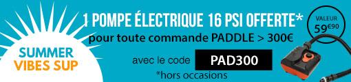 1 pompe electrique offerte