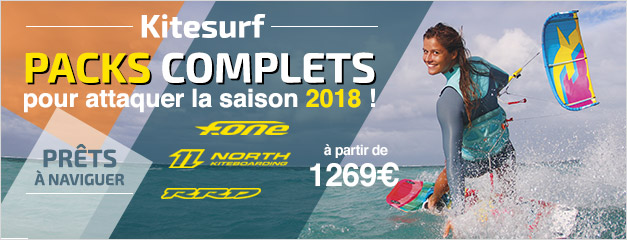 Packs de kitesurf 2018