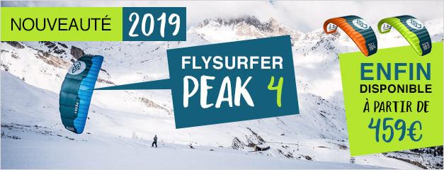 Nouveauté 2019 Flysurfer Peak 4