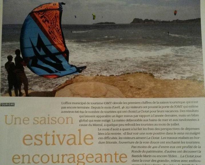 La Ciotat aime le kite