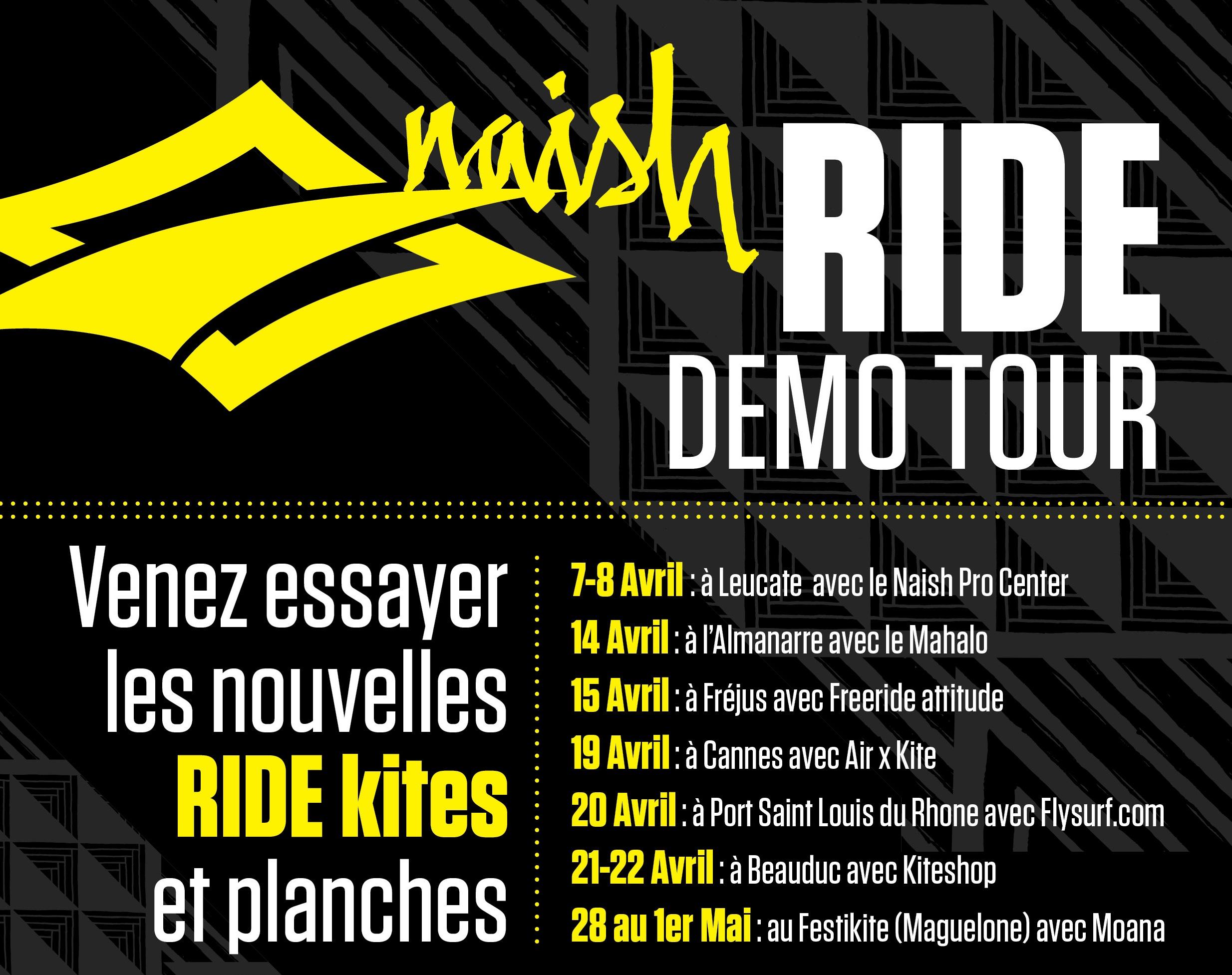 Naish Ride Demo Tour