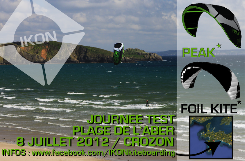 Test matos IKON en Bretagne