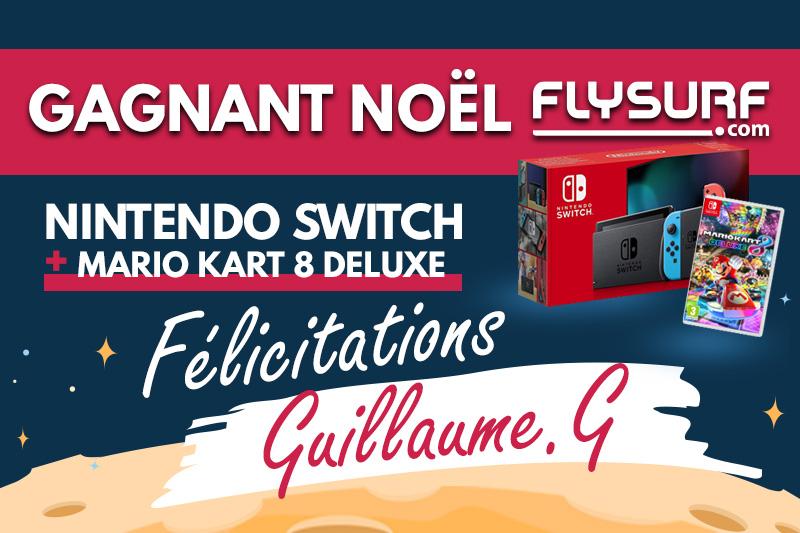 Gagnant du Noël Flysurf.com