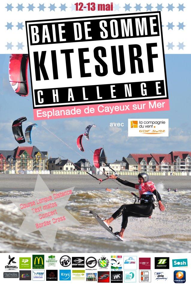 Kitesurf Challenge en Baie de Somme