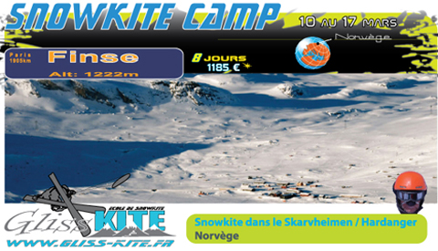Snowkite Camp Norway