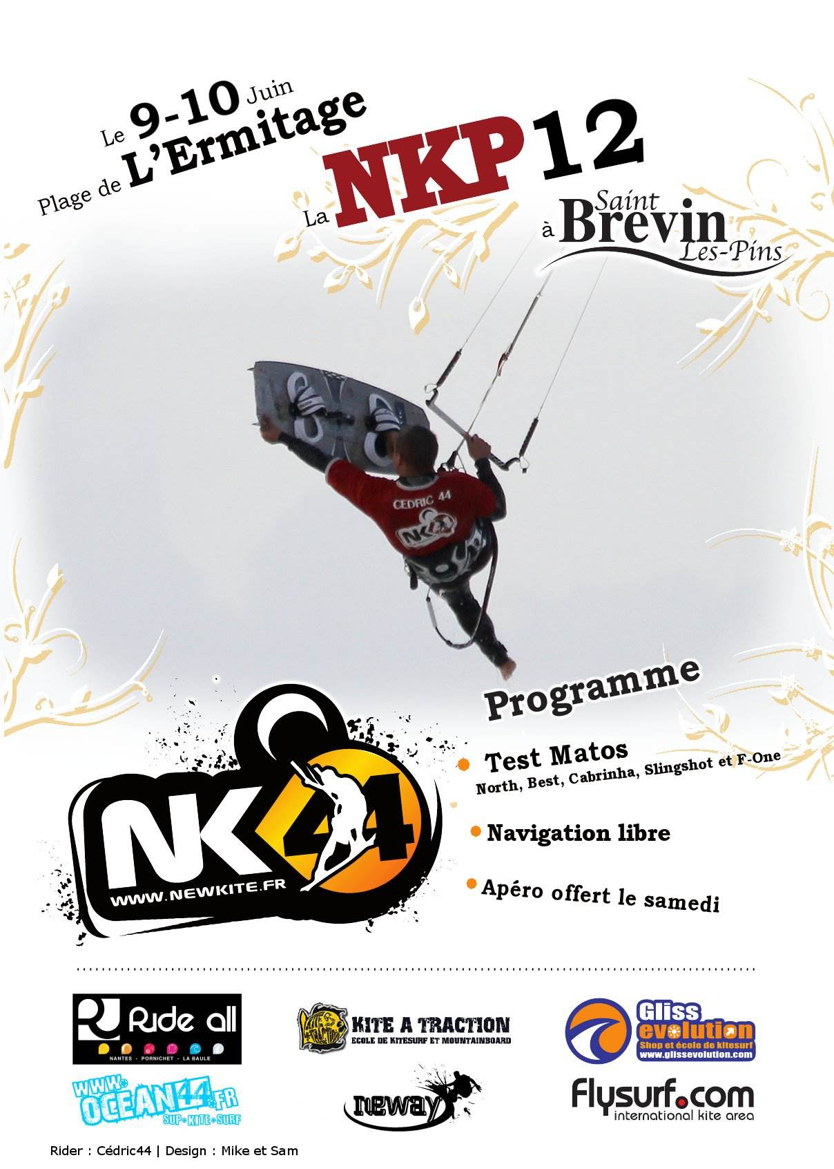 NKP 12. Du kite à St Brévin Les Pins