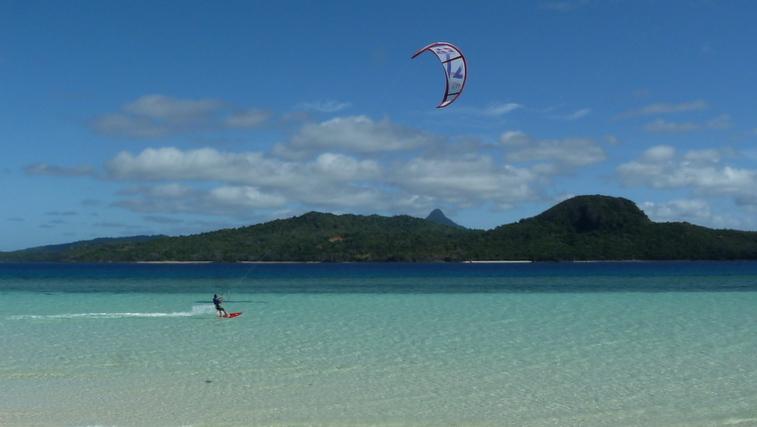 Du kite à Mayotte