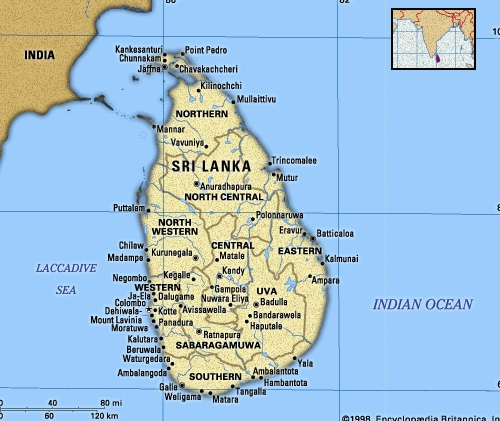 kitecamp au Sri Lanka avec Victor Hays