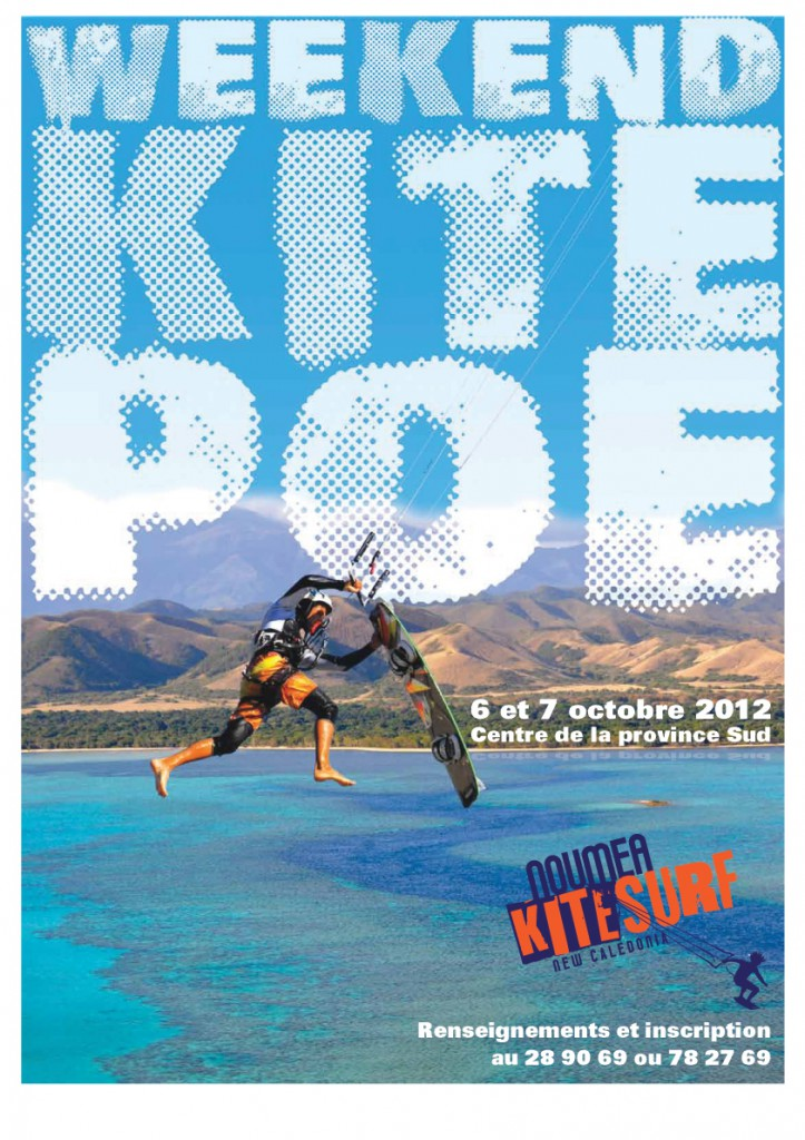 Weekend kite sur Poé