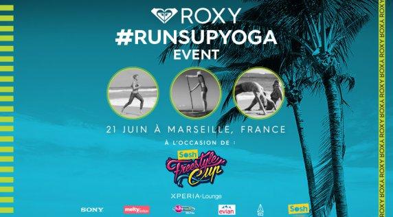 #runsupyoga à Marseille dimanche 21 juin