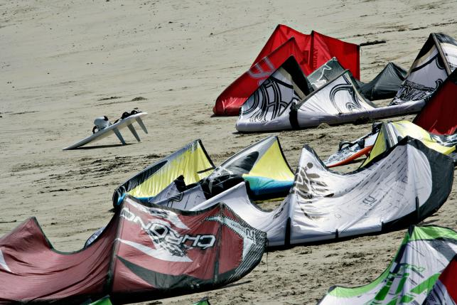 Kite vs windsurf