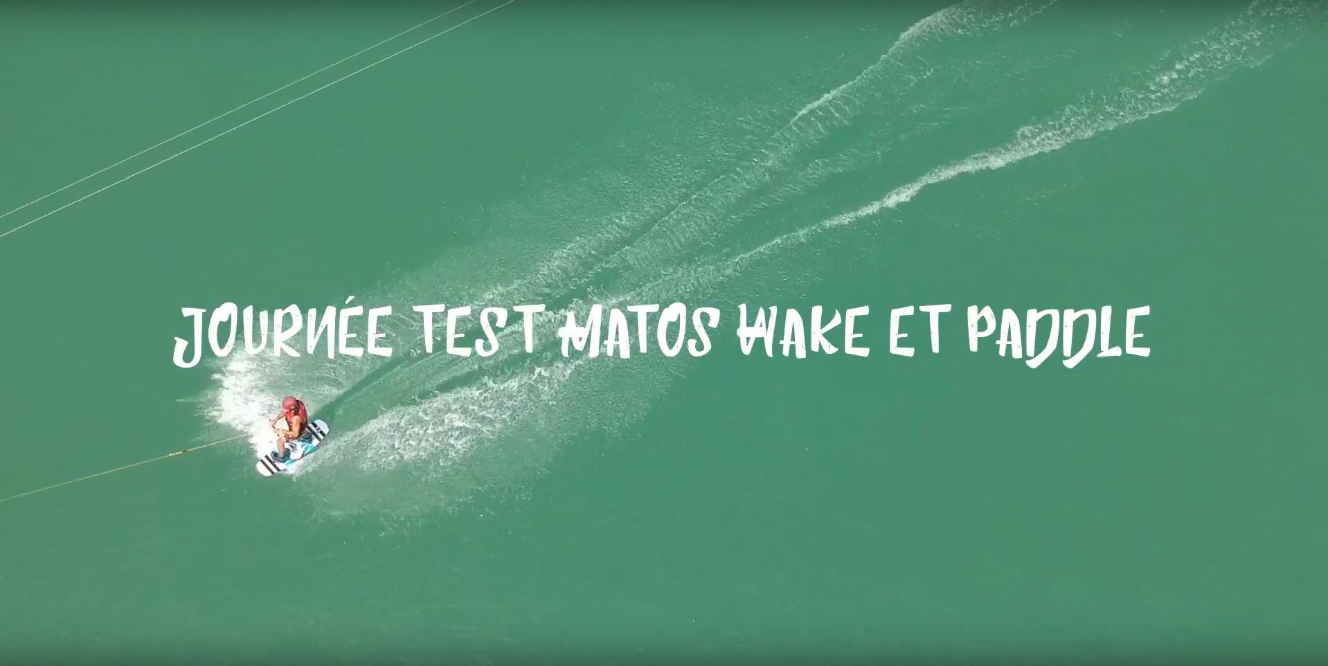 Journée test matos wake & paddle FLYSURF.COM