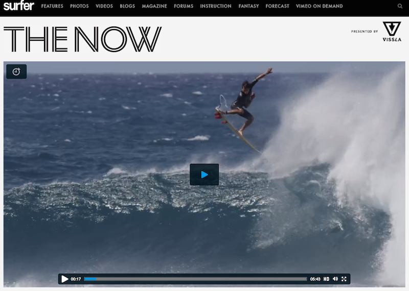 Kaï Lenny dans Surfer