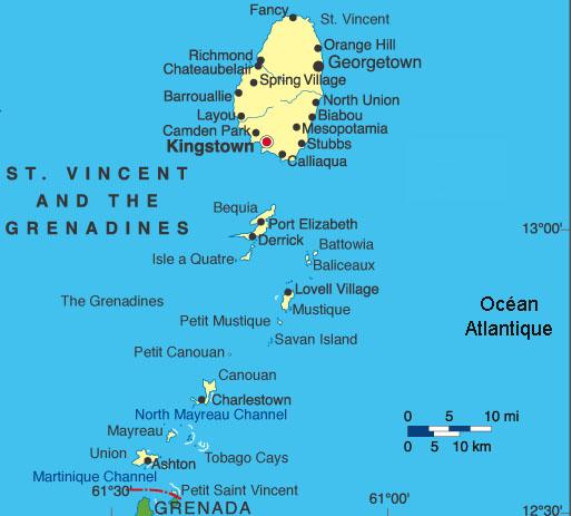 Croisières aux Grenadines