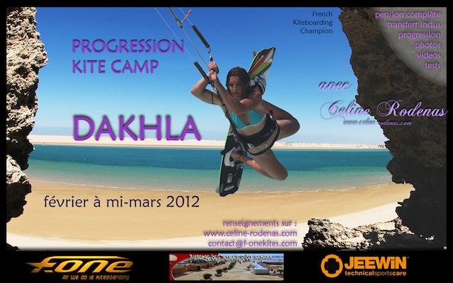 Céline Rodenas entre chez F.One et organise un stage à Dakhla