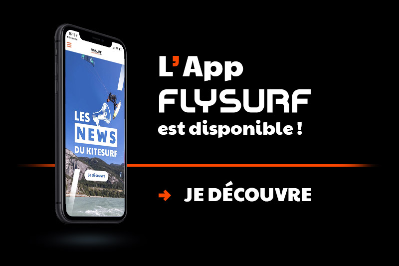 L'Application Flysurf.com est disponible et en plus elle est gratuite !