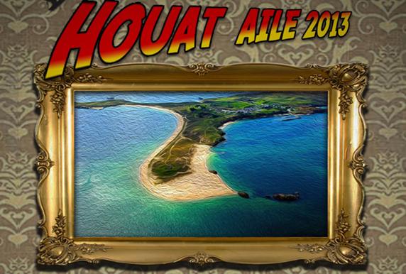 Traversée Quiberon-Houat en kite