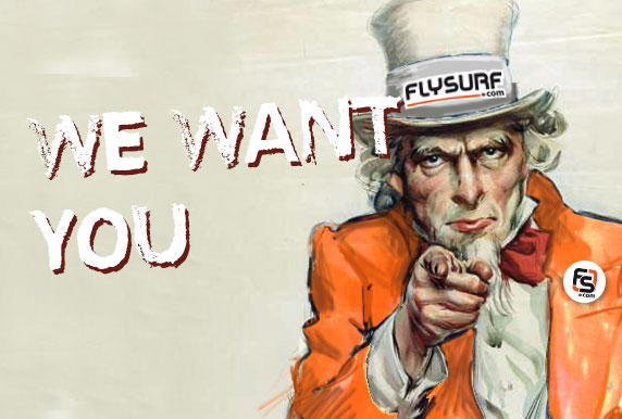 Du taff chez flysurf.com : we want you