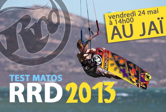 Test Matos RRD 2013 avec Flysurf.com au Jaï vendredi!