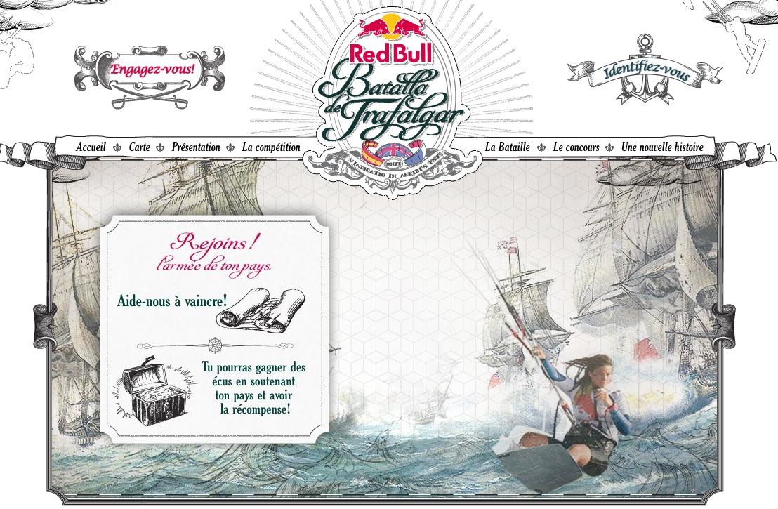 Trafalgar remixé par Red Bull