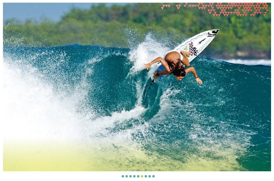 Surf au féminin