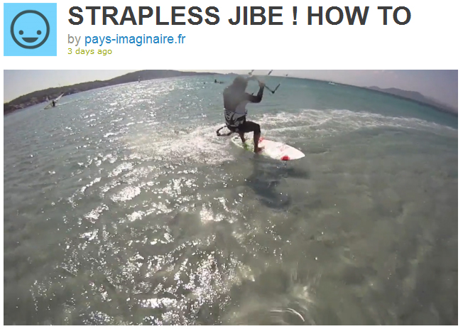 Jibe Strapless ! How to