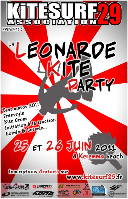 Leonarde kite Party