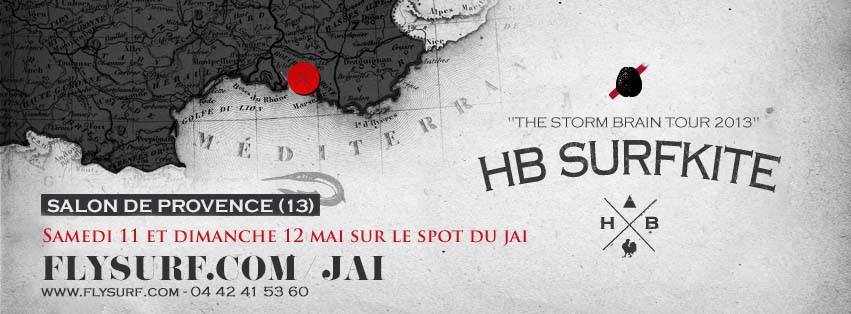 WE test HB Surfkite au Jaï ce week end!