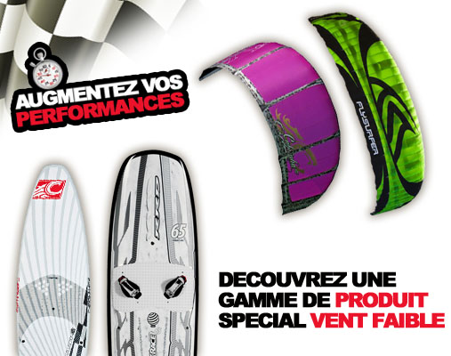 LA PROMO DU W.E . RACE LIGHT WIND ET WAVE RIDING