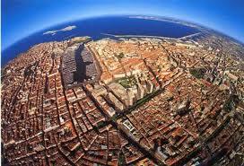 La place du kite à Marseille