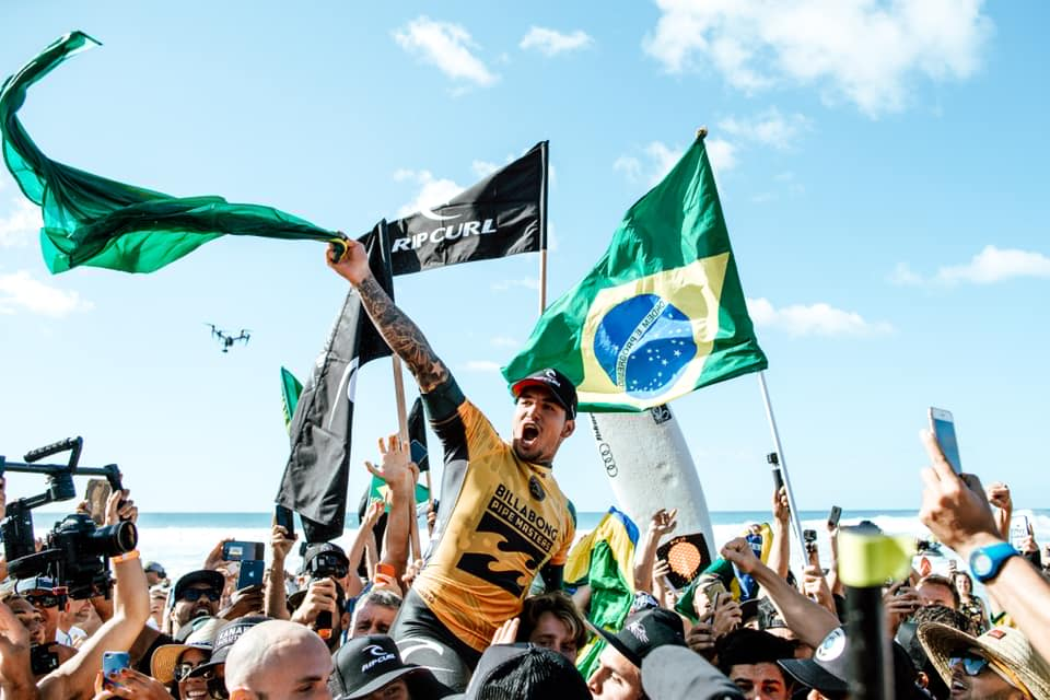 Gabriel Medina 2018 World Champion