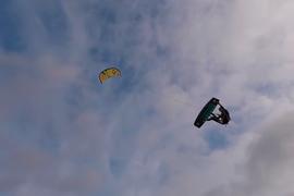 Session de kite avec Pippa van Iersel et son nouvel équipement by Duotone