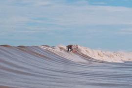Pororoca : Une vague rare au milieu de la jungle brésilienne