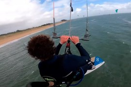 Retour sur la Eleveight Kite RS V5 by One Launch Kiteboarding !